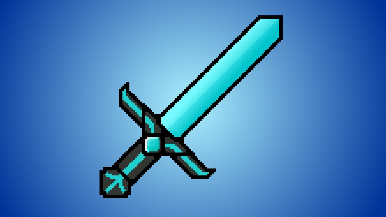 how to show animated swords in minecraft