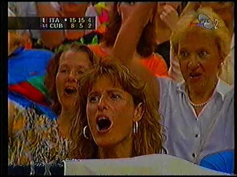 1997 Men's Volleyball World League Italy - Cuba part 2