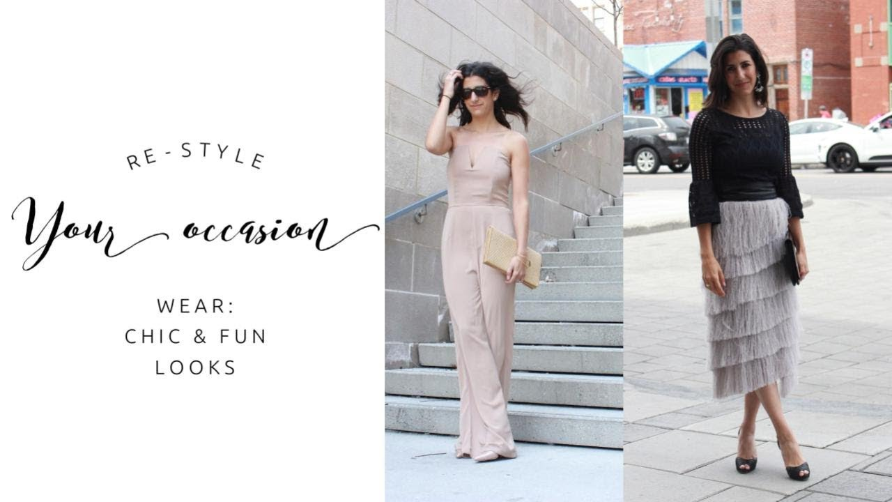[VIDEO] - How to Make Dressy Clothes Casual + 6 Chic & Fun Outfit Ideas | Love What You Have 2