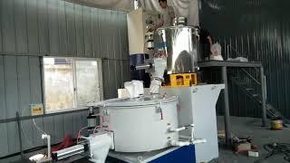 soft pvc resin material blender