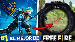 EL MEJOR JUGADOR DE FREE FIRE *NINJA DE FREE FIRE* 🏆😱 MIKECRACK FREE FIRE #5
