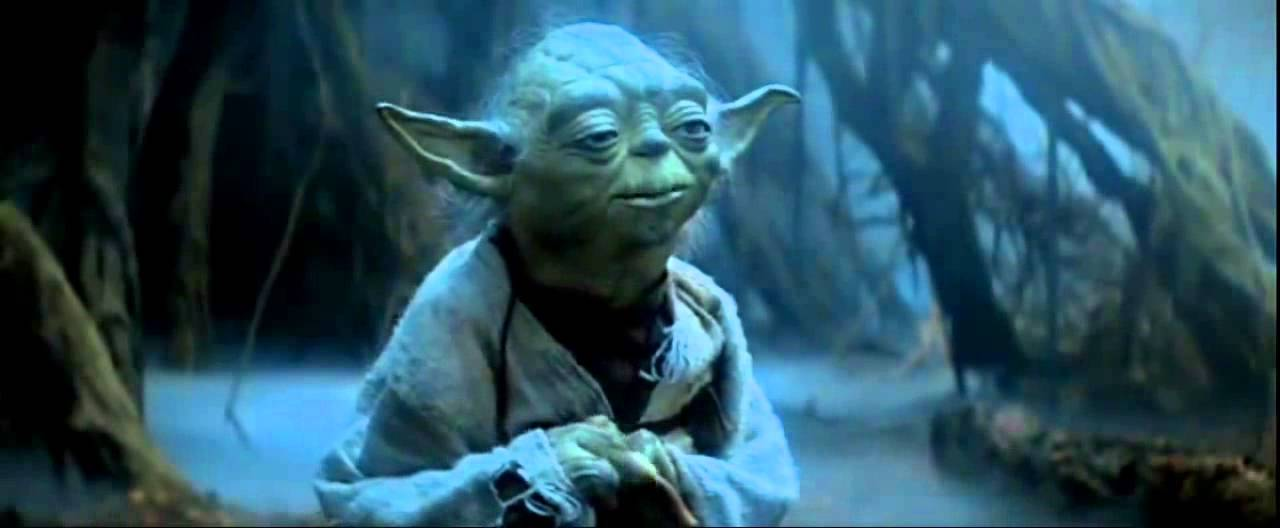 Yoda You Must Unlearn What You Have Learned Youtube