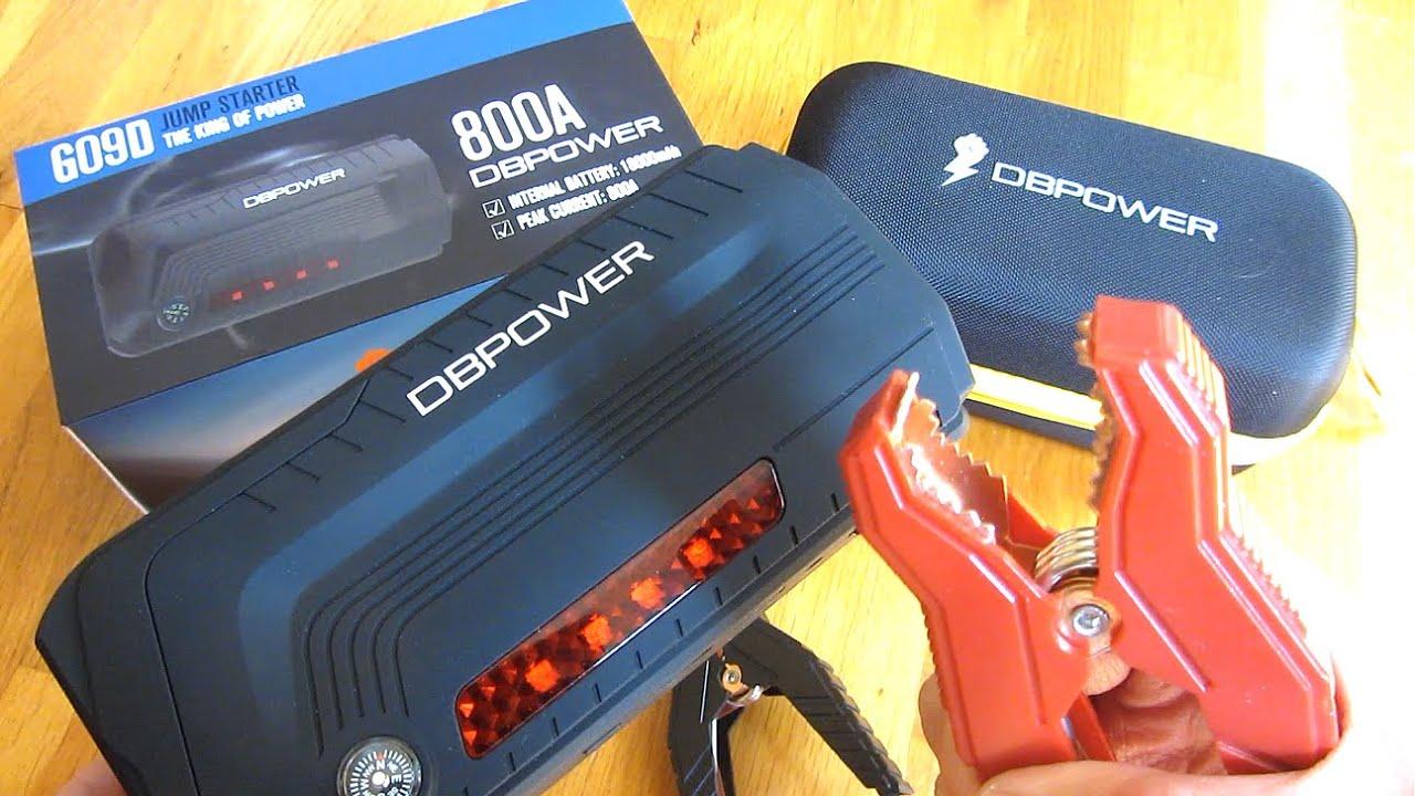 DBPower 800A   18000 mAh   Lithium Car Jump Starter
