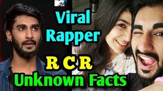 RCR Rapper #MTVHustle RCR #RCR Real Name Biography And Girl friend