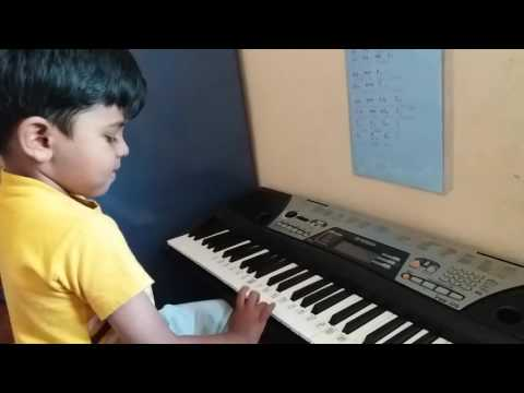 Bits of paper english rhyme Carnatic keyboard
