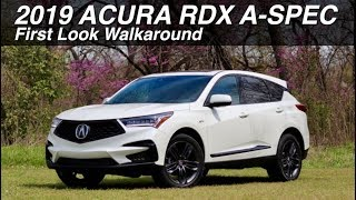 First Look: 2019 Acura RDX A-Spec on Everyman Driver