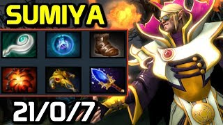 WTF FAST HAND - Sumiya full game - BEST INVOKER COMBOS AND GAMEPLAY