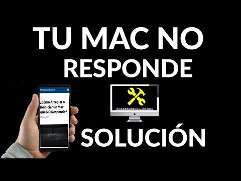 Cómo Arreglar o Reiniciar un Mac que NO Responde