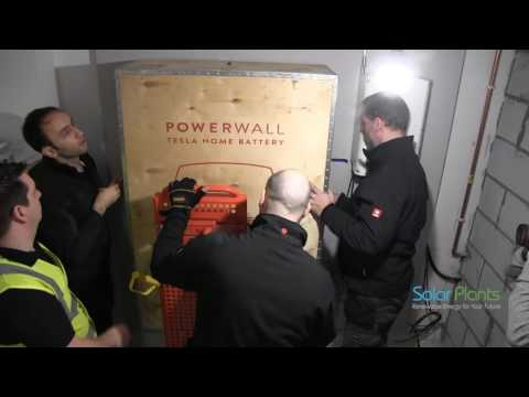 UK's First Tesla Powerwall Installation - Solar Plants