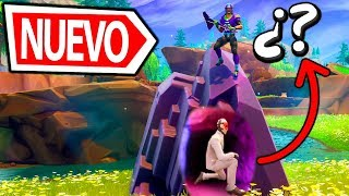 😂😂 TROLLEO IN SECRET ESCONDITE IN *NEW MAP* from FORTNITE: Battle Royale MINIGAMES