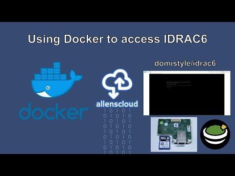 Using Docker to access IDRAC6 : homelab