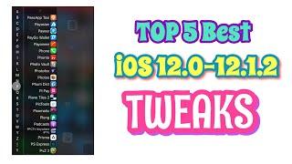 Top 5 Cydia Tweaks Compatible iOS 12.0 - 12.1.2 (Unc0ver Jailbreak)