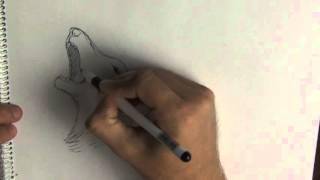 Ускоренный рисунок волка. Как нарисовать волка.(Как зарабатывать на продаже своих картинок http://hlivnyk.ru/kurs/ Купить рисунок волка в векторе http://www.shutterstock.com/ru/pic-3..., 2015-09-22T09:06:35.000Z)