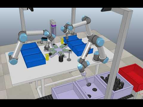 Robotics Simulation V-REP