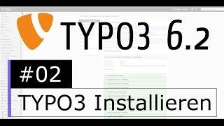Tutorial: TYPO3 6.2 - TYPO3 Installieren