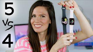 Apple Watch Series 5 vs Apple Watch Series 4