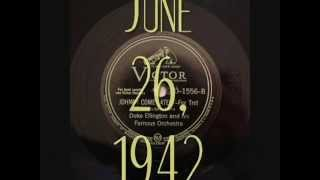 78rpm: Johnny Come Lately - Duke Ellington and his Famous Orchestra, 1942 - Victor 20-1556