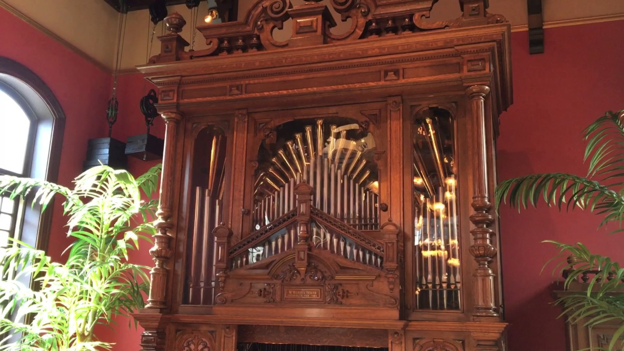 Welte Style 5 Concert Orchestrion plays