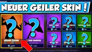 ❌NEW SKIN IS HERE!! (Biting Diver) 😱 - NEW OBJECT SHOP in FORTNITE is DA!!