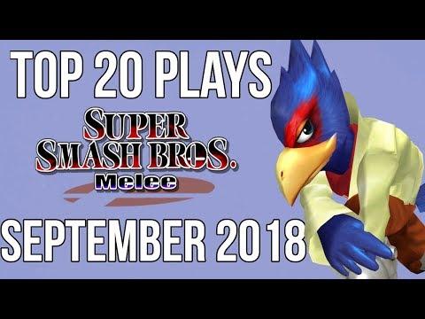 Top 20 SSBM Plays of September 2018  Super Smash Bros Melee