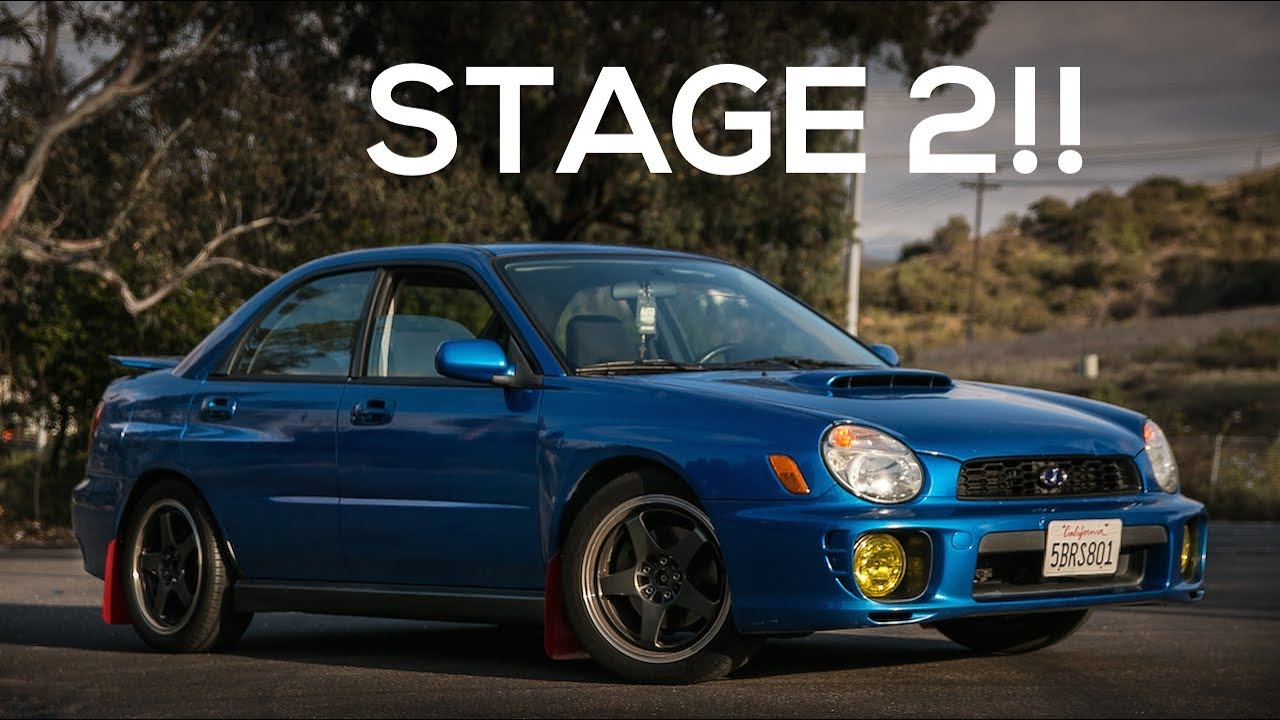 hight resolution of project bugeye 2003 subaru wrx stage 2 invidia downpipe install