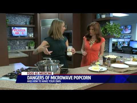 3 Dangers of Microwave Popcorn & How to Make Your Own! | The