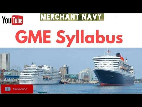 GME(GRADUATE MARINE ENGINEERING)||Syllabus||Top Colleges||
