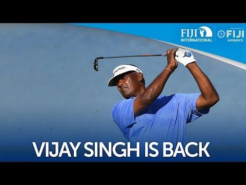 Vijay Singh confirmed for fifth Fiji International