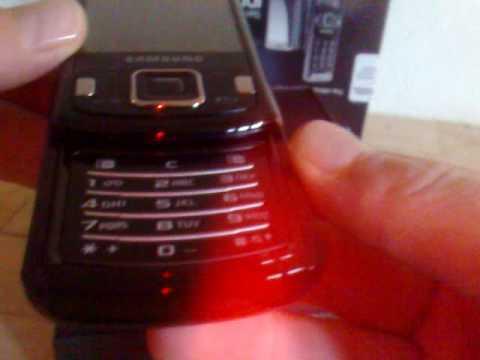 Unboxing Samsung GT-i8510 Innov8