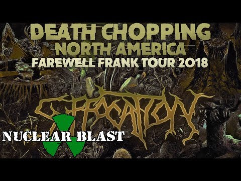 SUFFOCATION - Farewell Frank Tour: Death Chopping North America 2018 (OFFICIAL TOUR TRAILER)