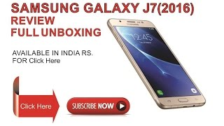 samsung galaxy j7 2016 india full Review and Unboxing gameing best mobile