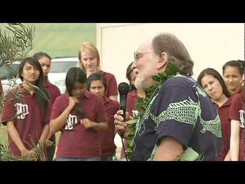 Hawaii Governor returns to Pahala, Waimea