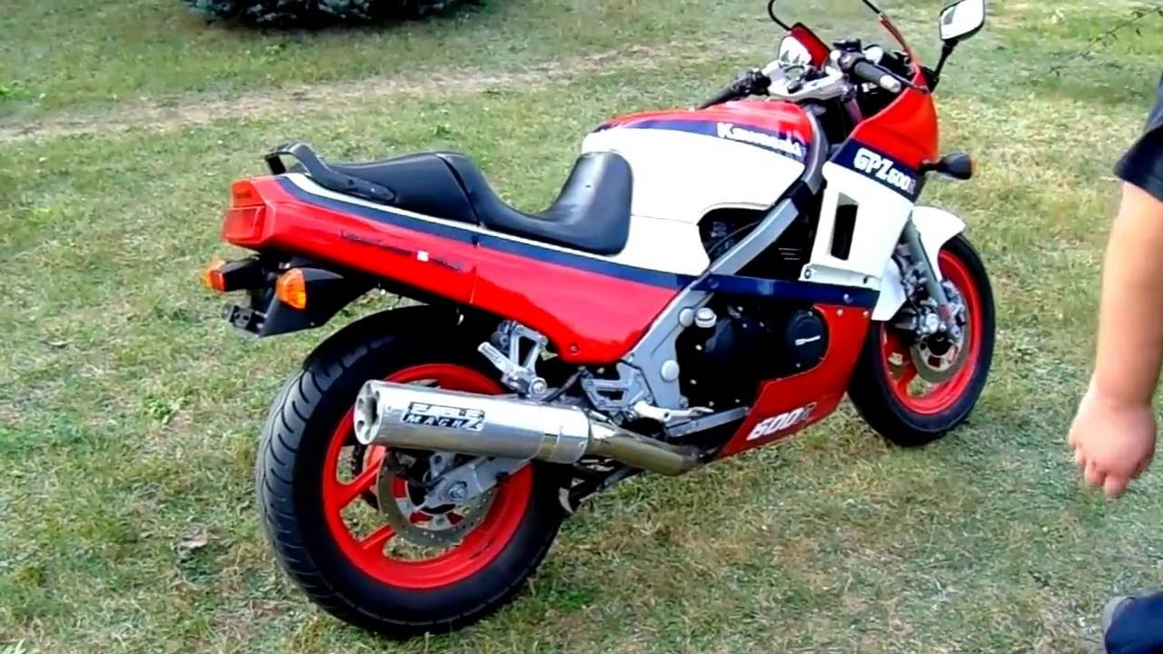 kawasaki gpz 600 ninja 1987 engine sound exhaust d doovi. Black Bedroom Furniture Sets. Home Design Ideas