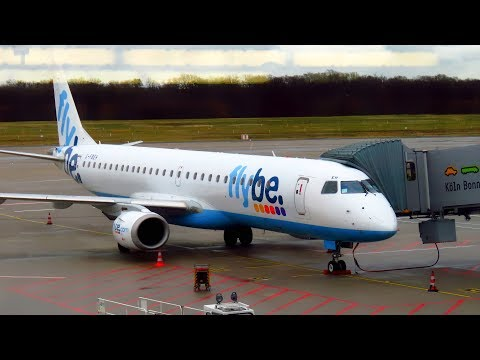TRIP REPORT | FLYBE E195 | Cologne to London Southend | EMPTY Economy | Embraer 195