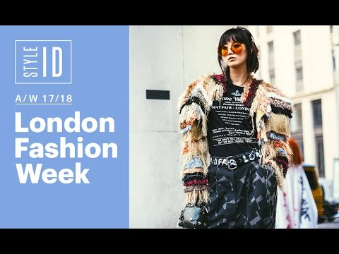 Style Id London Fashion Week A W 17 18 Youtube