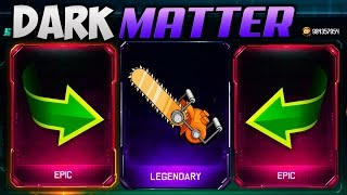 DARK MATTER CHAINSAW LIVE REACTION!! (BLACK OPS 3 NEW WEAPONS GAMEPLAY)