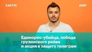 Единорос-убийца, победа грузинского рейва  и акция в защиту телеграм