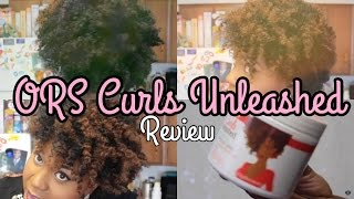 ORS Curls Unleashed Review an Twist Out On Natural 4c Hair