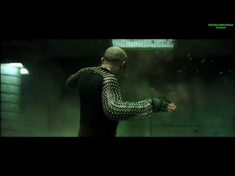 Best fight scenes of Matrix Revolutions Trinity and Morpheus and Seraph VS Vampires HD 720p