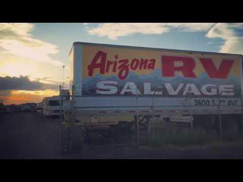 USED RV PARTS YARD IN ARIZONA