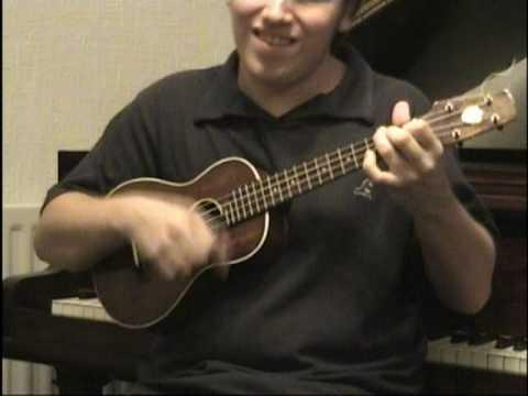 Matt Richards Plays 'you me and us' on a Keech Ukulele