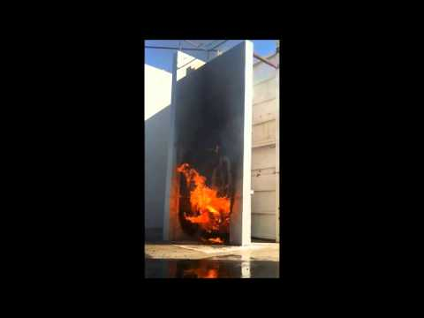 ACM Fire Test   07 Feb 2013