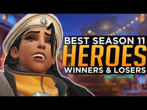 Overwatch: BEST and WORST Heroes Season 11 - Meta Discussion