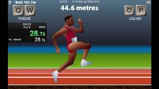 QWOP speedrun 01:03.13