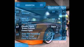 Element Eighty Broken Promises NFS Underground Edition