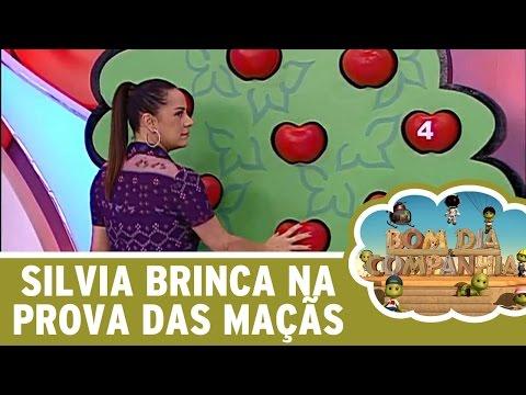 Bom Dia e Cia (08/06/16) - Silvia Abravanel brinca na Prova das Maçãs