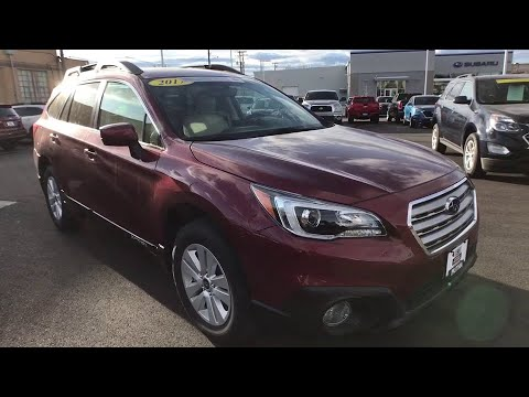 Used Cars Kalispell >> 2017 Subaru Outback Great Falls Missoula Helena Billings Kalispell Mt H3396403s