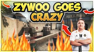 ZYWOO GOES CRAZY HIGH IQ STRAT FROM RENEGADES AND MORE Twitch CSGO Clips