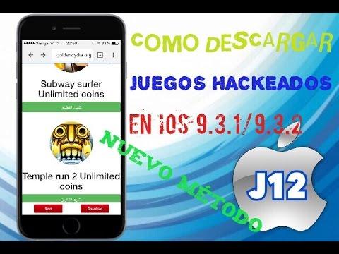 Como Descargar Juegos Hackeados Para Ios 9 3 1 9 3 2 Nuevo Metodo
