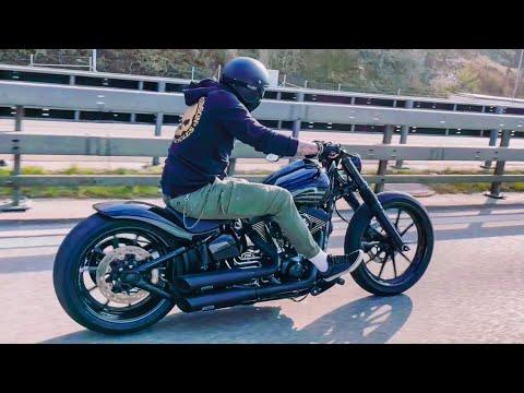 Harley-Davidson Breakout Ride (Enrique from Switzerland)